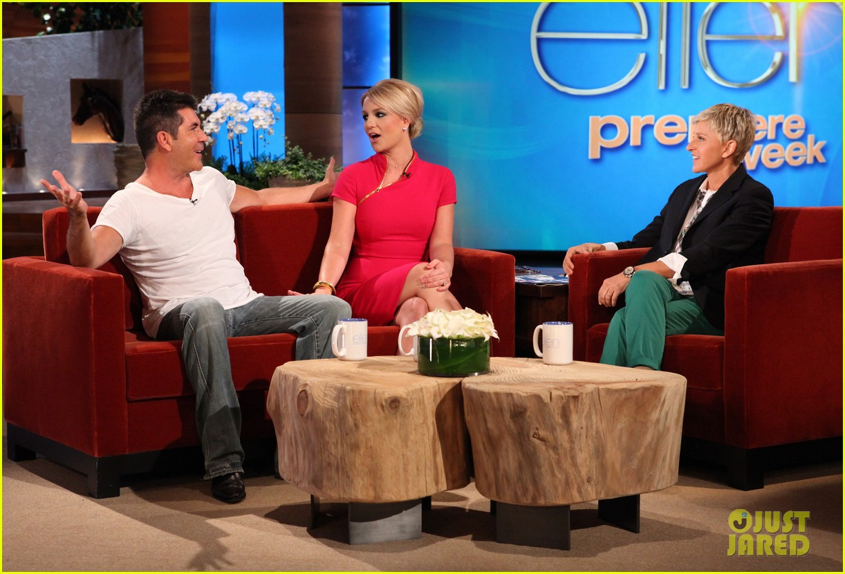 britney spears learns gangnam style on ellen 012719246