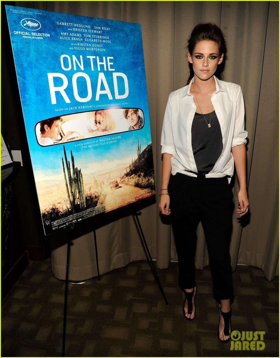 Kristen Stewart sobre a nyc triagem estrada 02