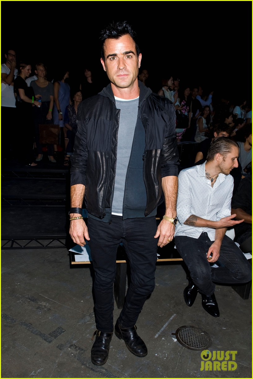 justin theroux alexander wang fashion show 012717493