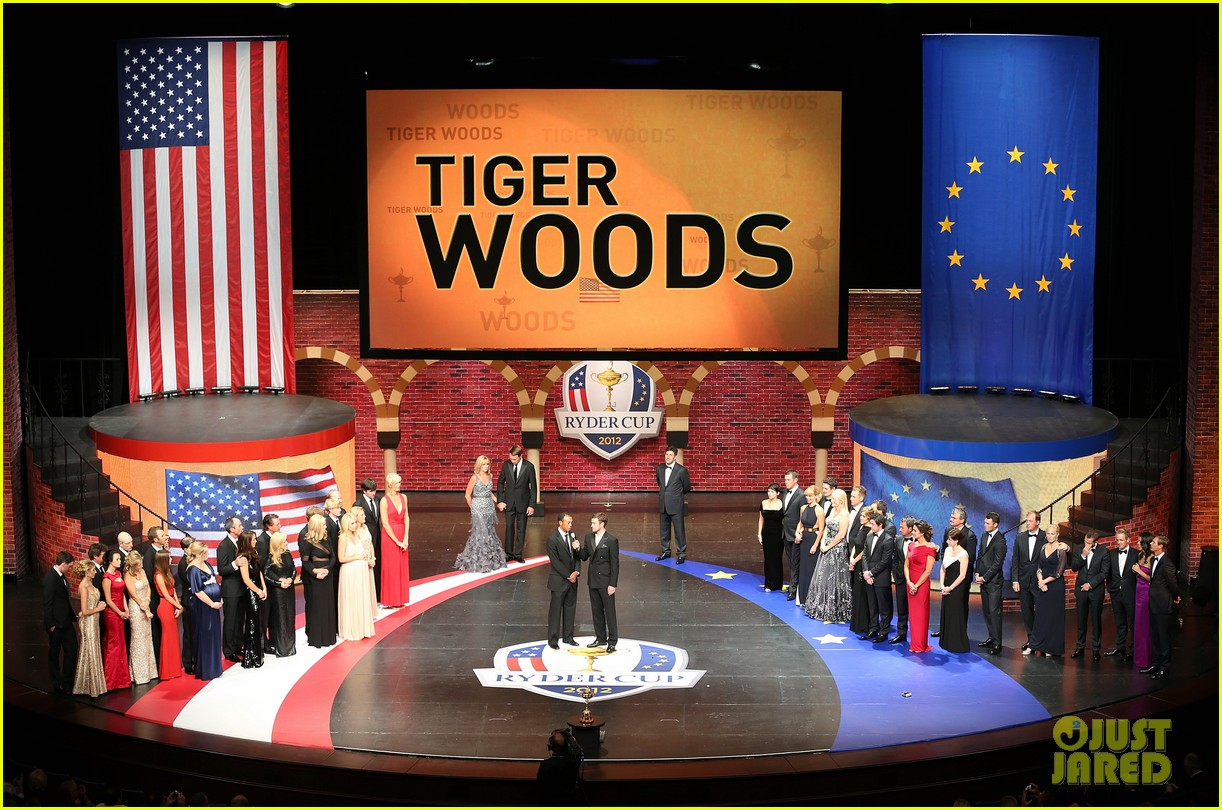 justin timberlake ryder cup gala with tiger woods 042729095