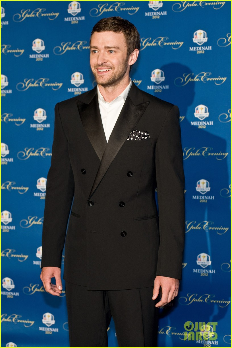 justin timberlake ryder cup gala with tiger woods 10