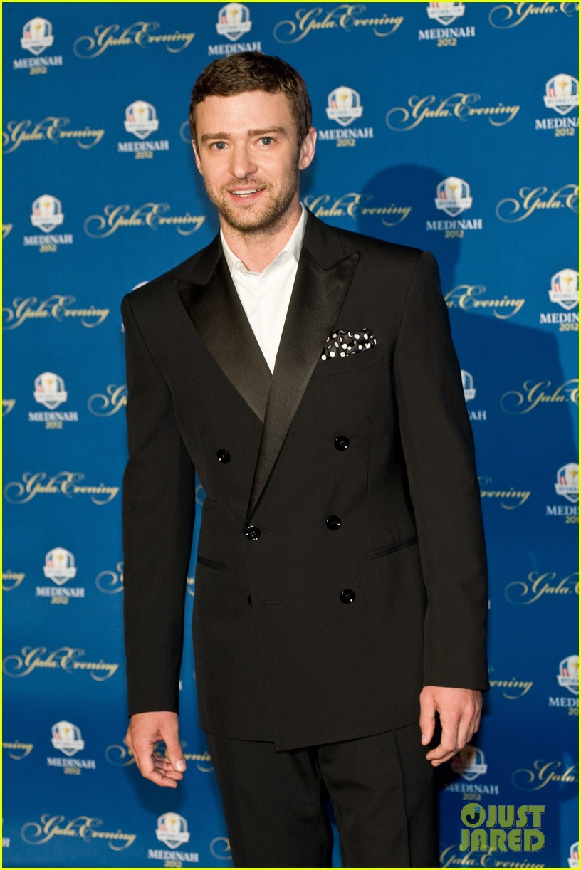 justin timberlake ryder cup gala with tiger woods 112729102