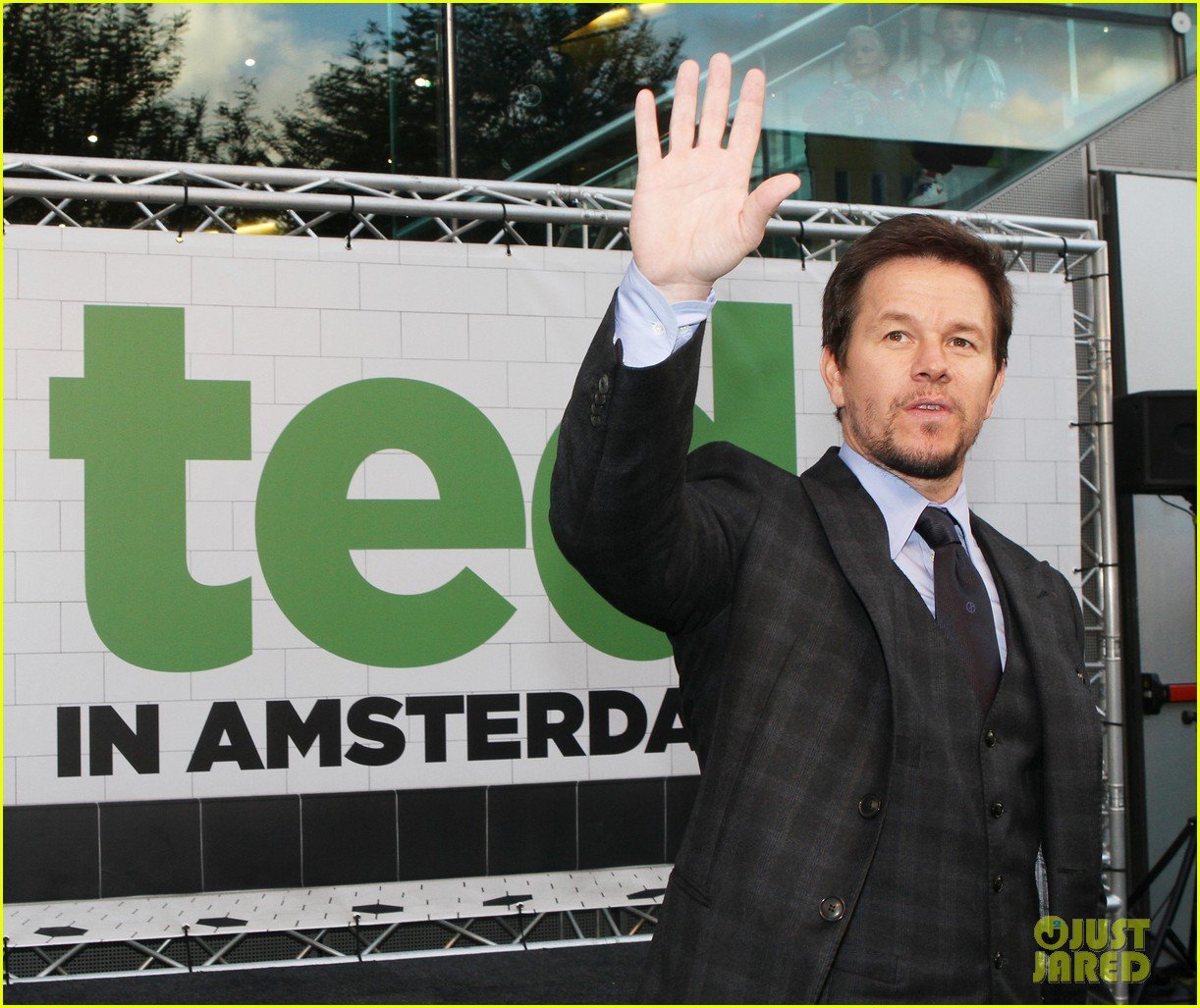 mark wahlberg ted premiere in holland 152720434