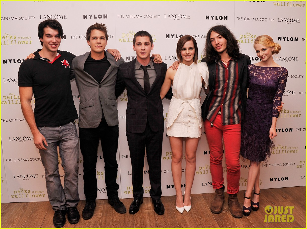 emma watson logan lerman perks screening in nyc 032721325