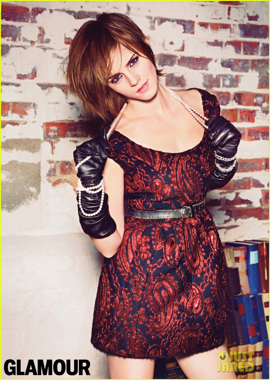 emma watson covers glamour october 2012 012713861