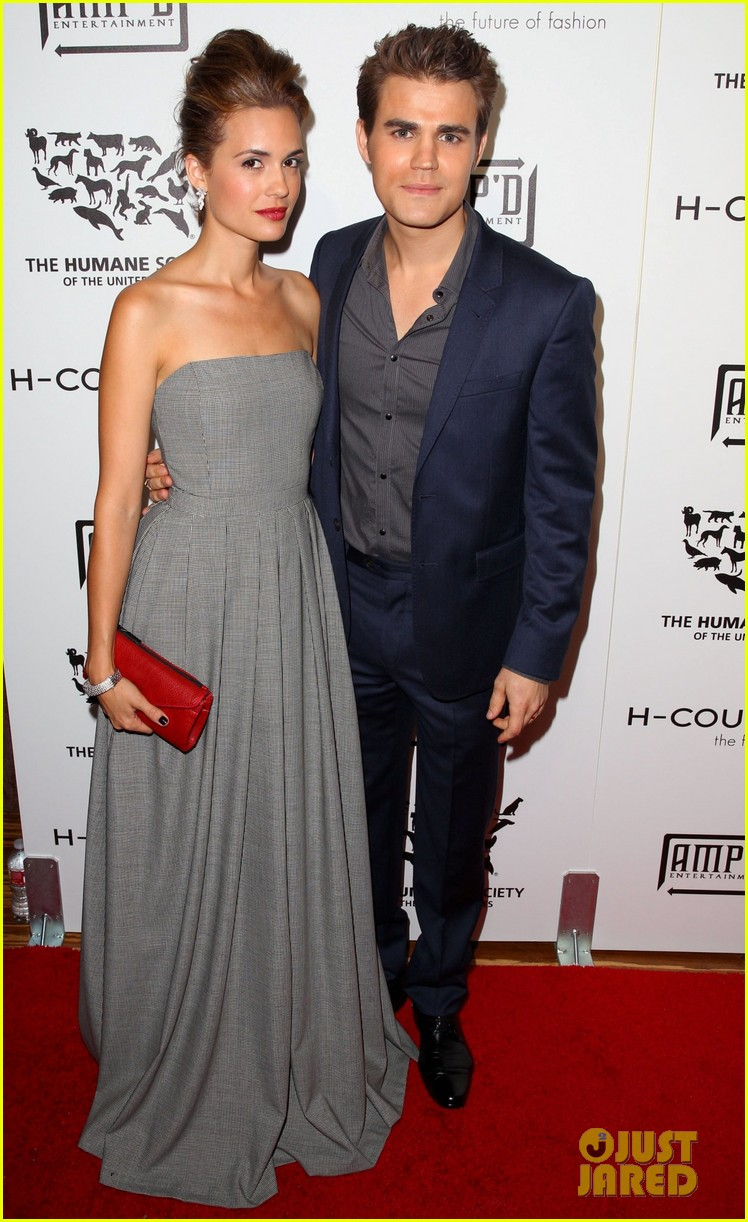 paul wesley torrey devito h couture fashion show 012727892