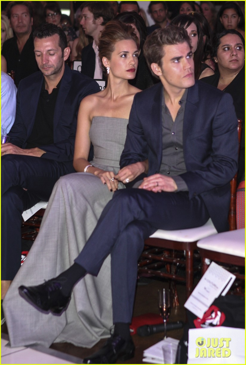 paul wesley torrey devito h couture fashion show 022727893
