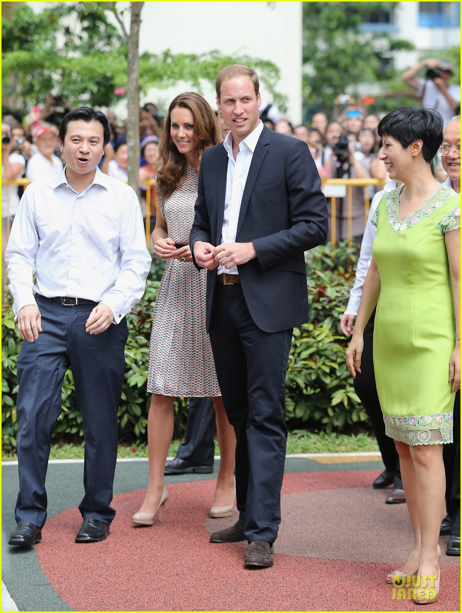 prince william duchess kate visit garden by the bay 10