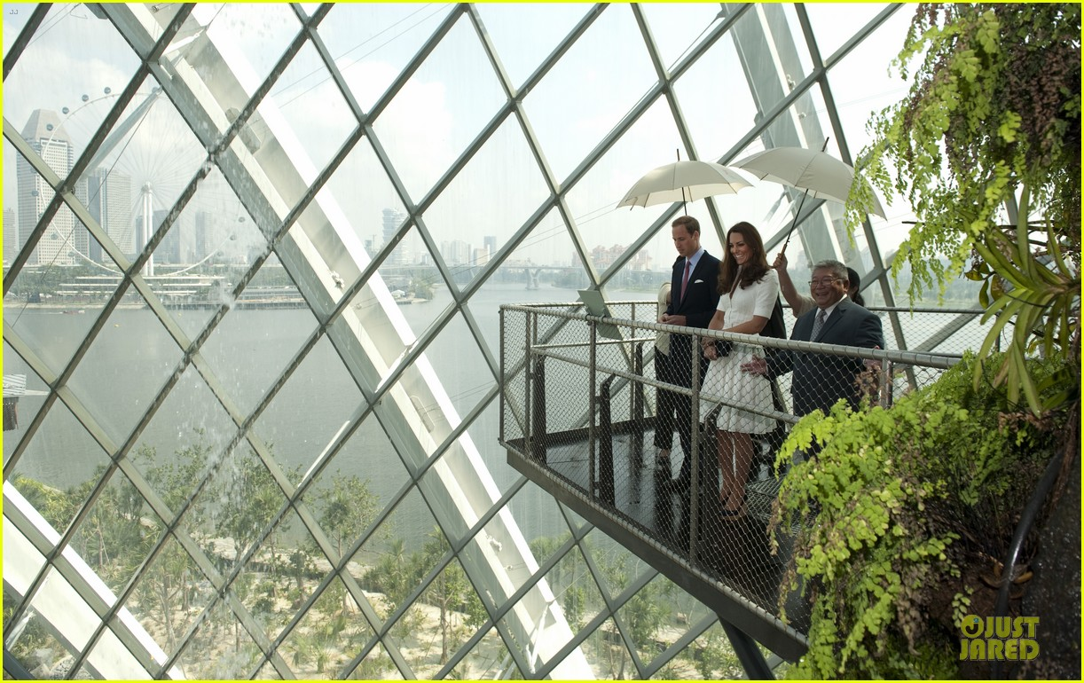 prince william duchess kate visit garden by the bay 302720041