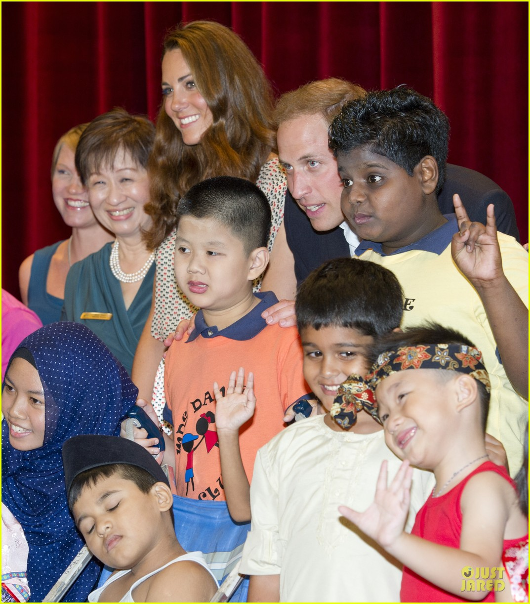 prince william duchess kate visit garden by the bay 322720043