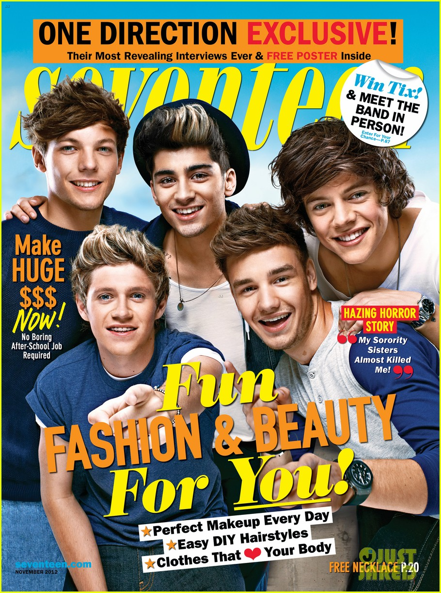 one direction covers seventeen november 2012 022736112