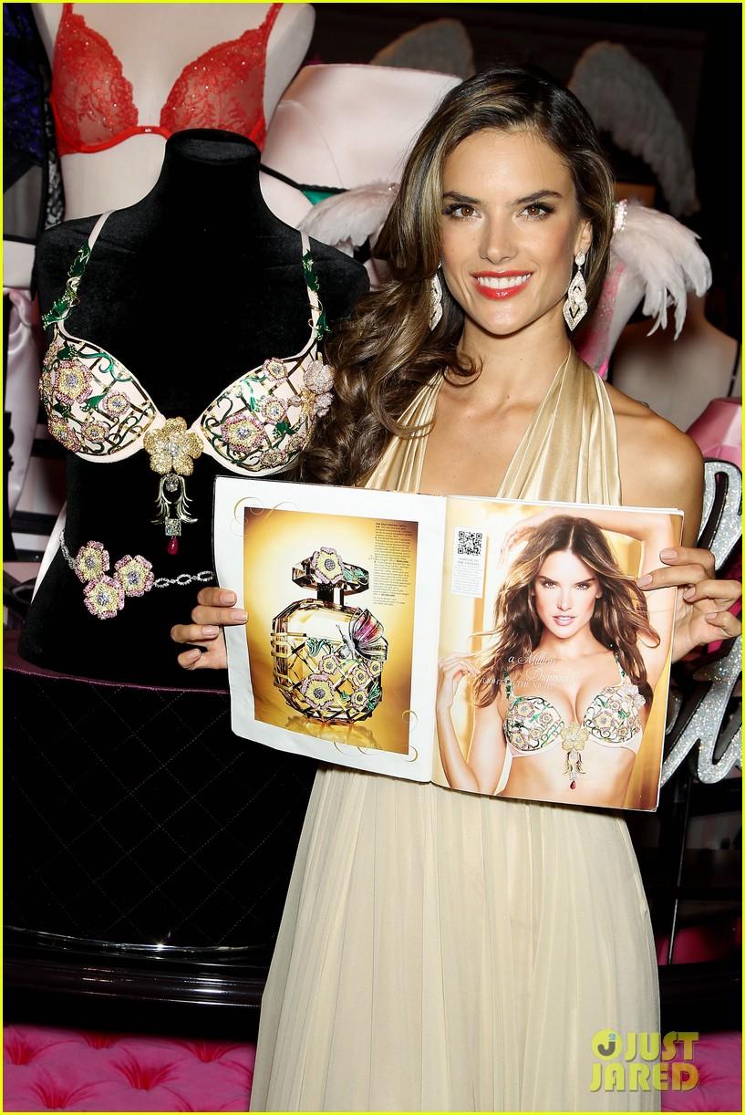 cbf0b136025ea Alessandra Ambrosio Reveals Victoria s Secret Fantasy Bra!  Photo ...