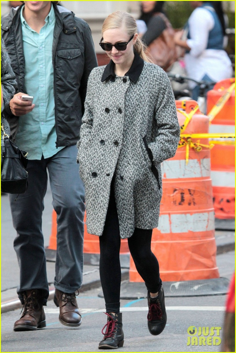 amanda seyfried funny faces in nyc 022740681