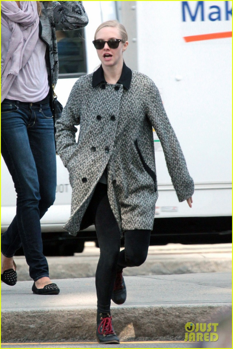 amanda seyfried funny faces in nyc 132740692