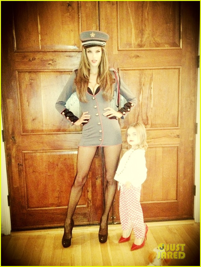 alessandra ambrosio jamie mazur first halloween party together 032746143