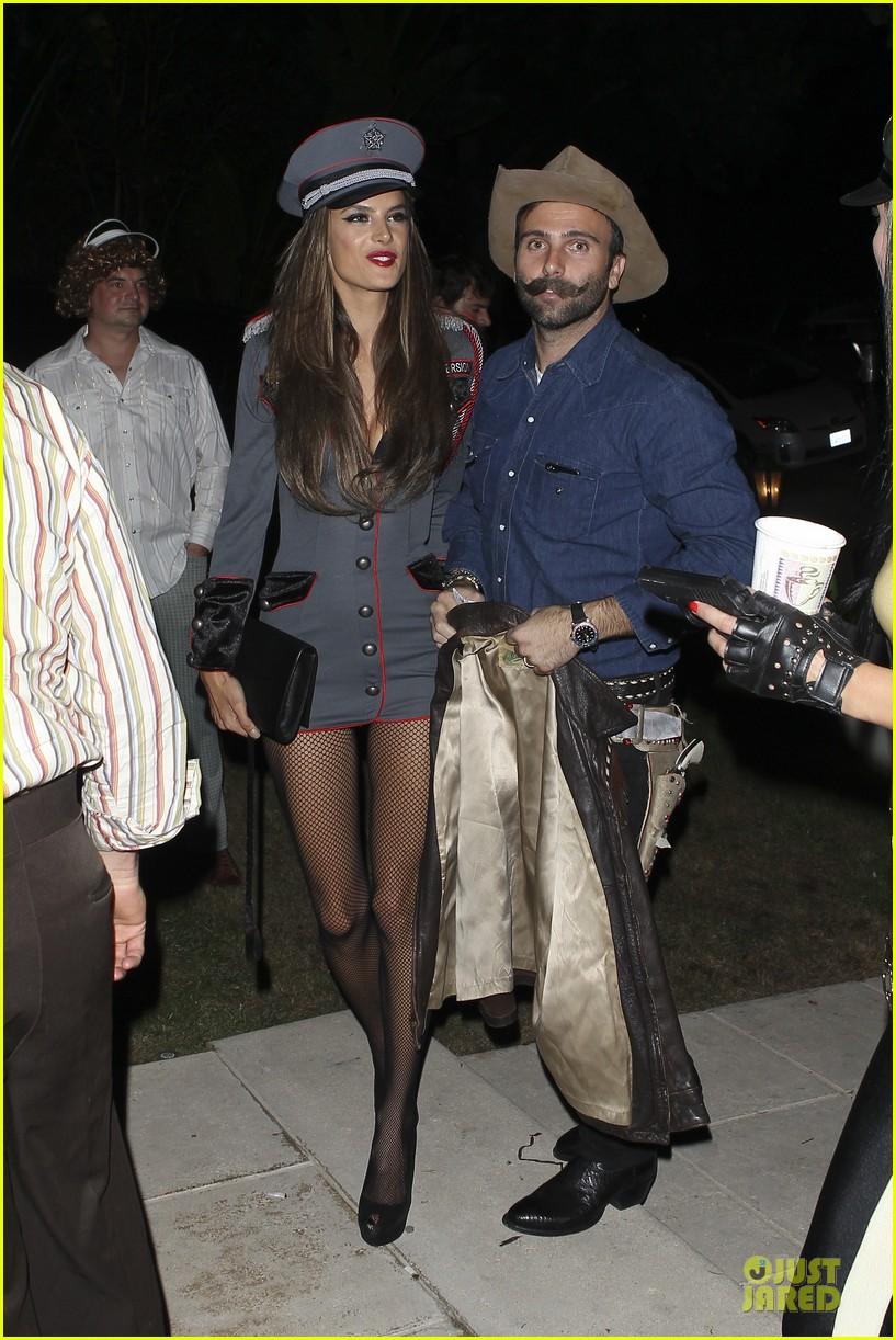Alessandra Ambrosio & Jamie Mazur: First Halloween Party Together ...