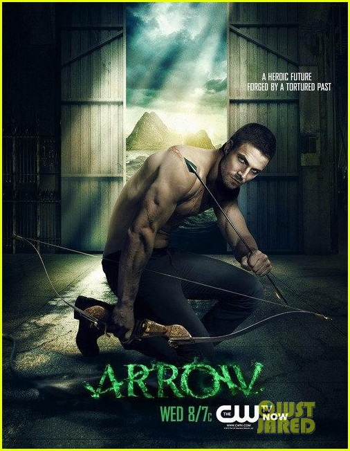 stephen amell new shirtless arrow posters 042739280