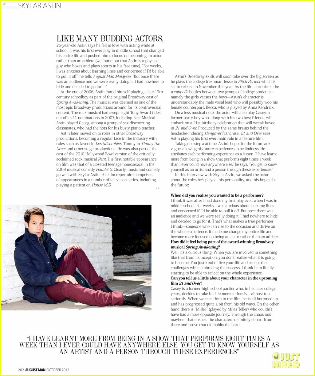 skylar astin august man feature  102737724