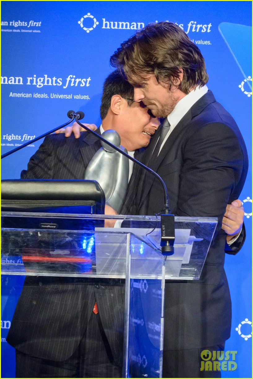 christian bale human rights award dinner 032744641
