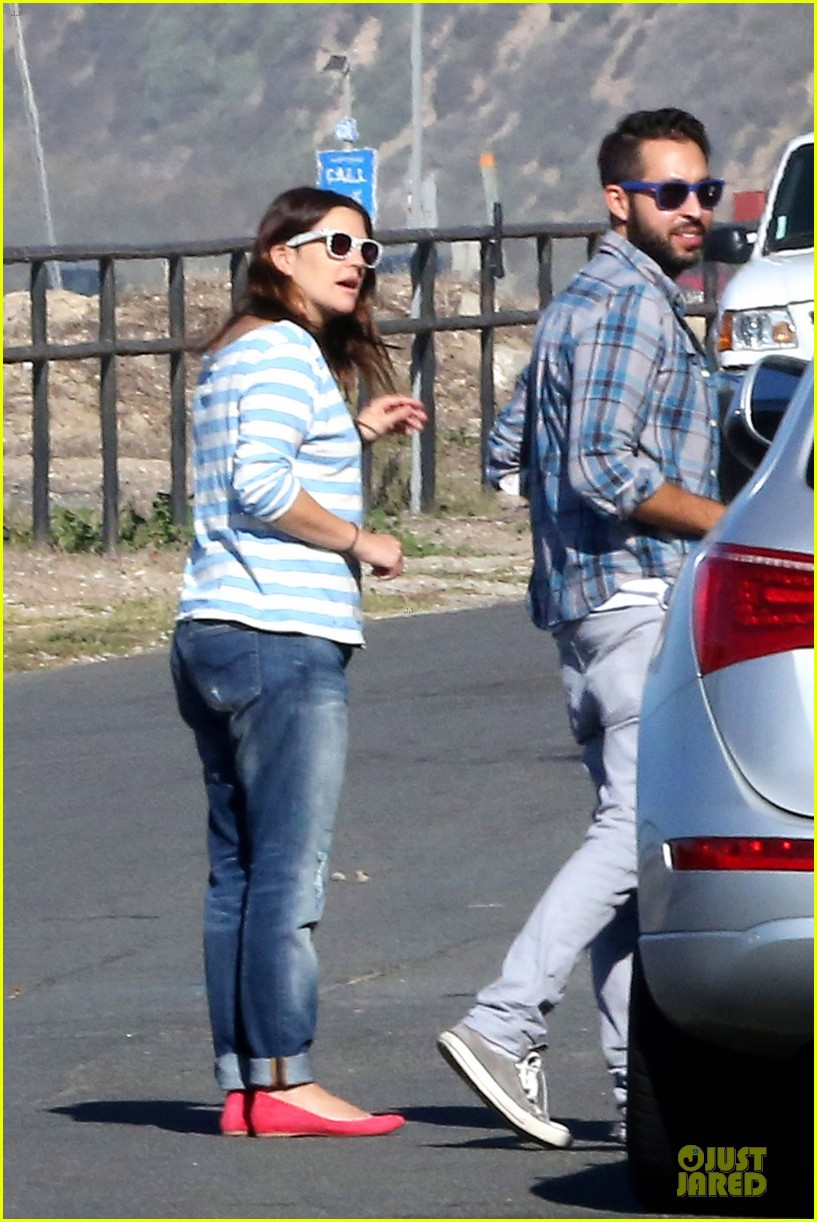 drew barrymore will kopelman post baby lunch 072742408