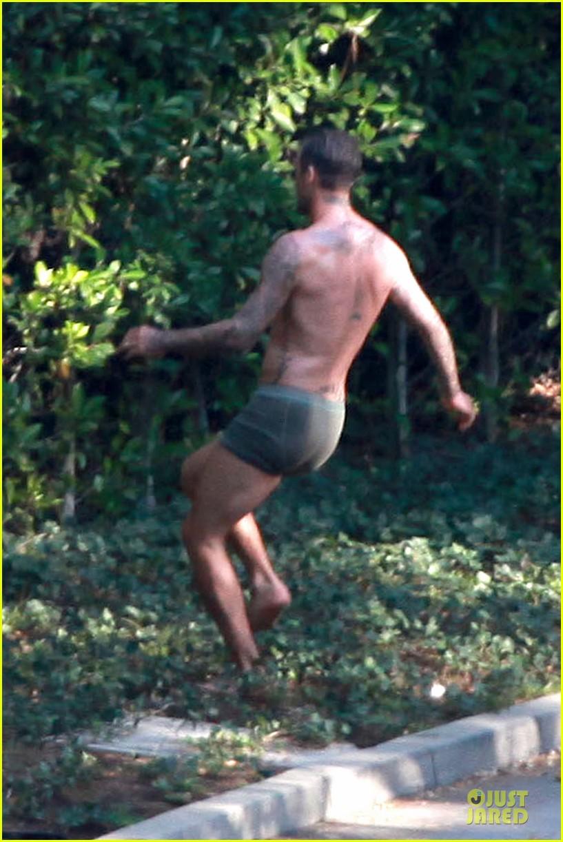 david beckham shirtless briefs h&m photoshoot beverly hills 102731963