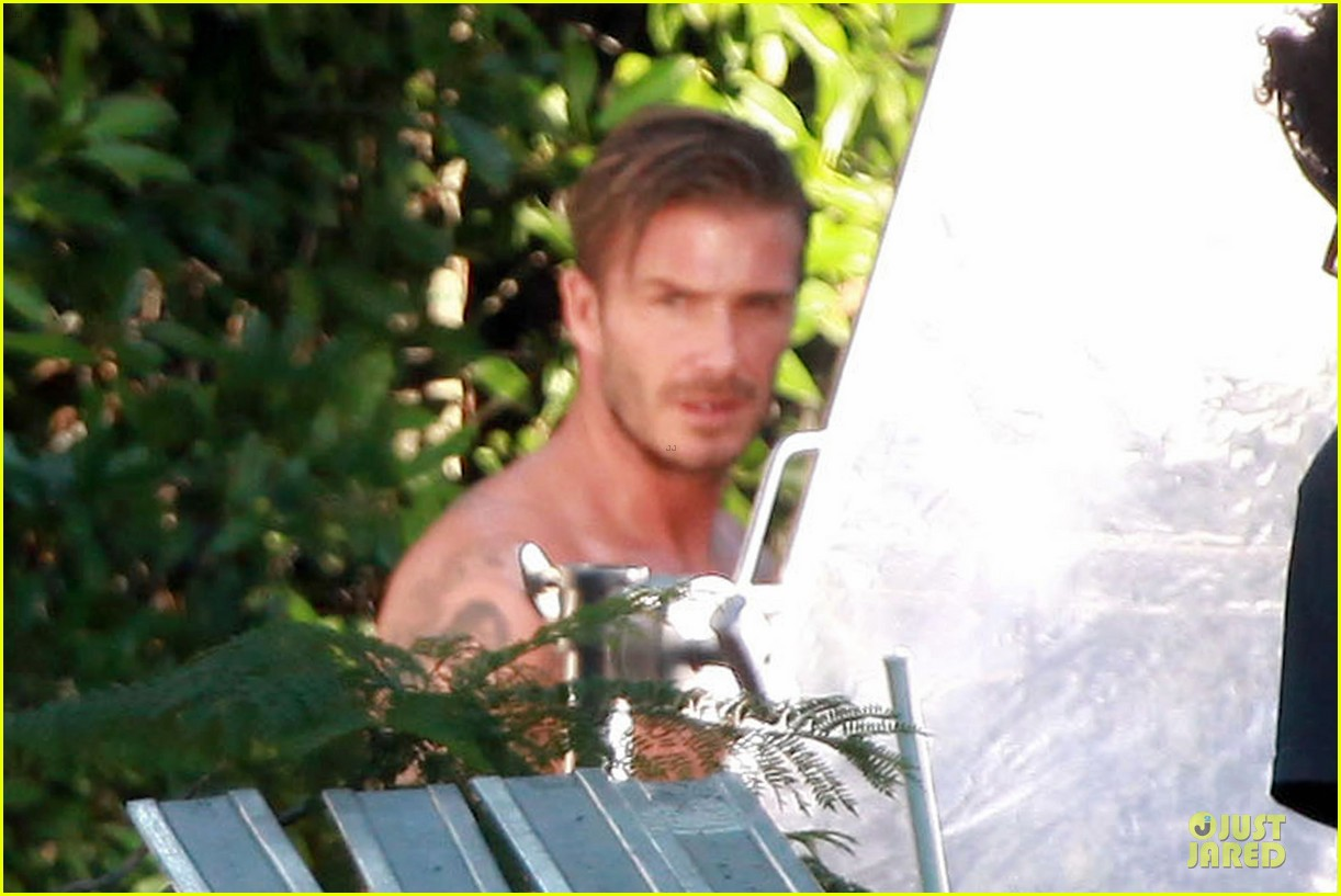 david beckham shirtless briefs h&m photoshoot beverly hills 112731964