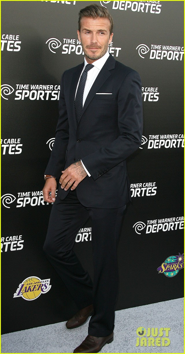 david beckham jesse williams time warner sports net launch 052731584