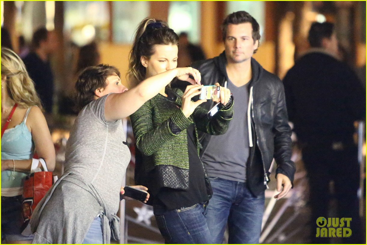 kate beckinsale len wiseman universal studios outing 01