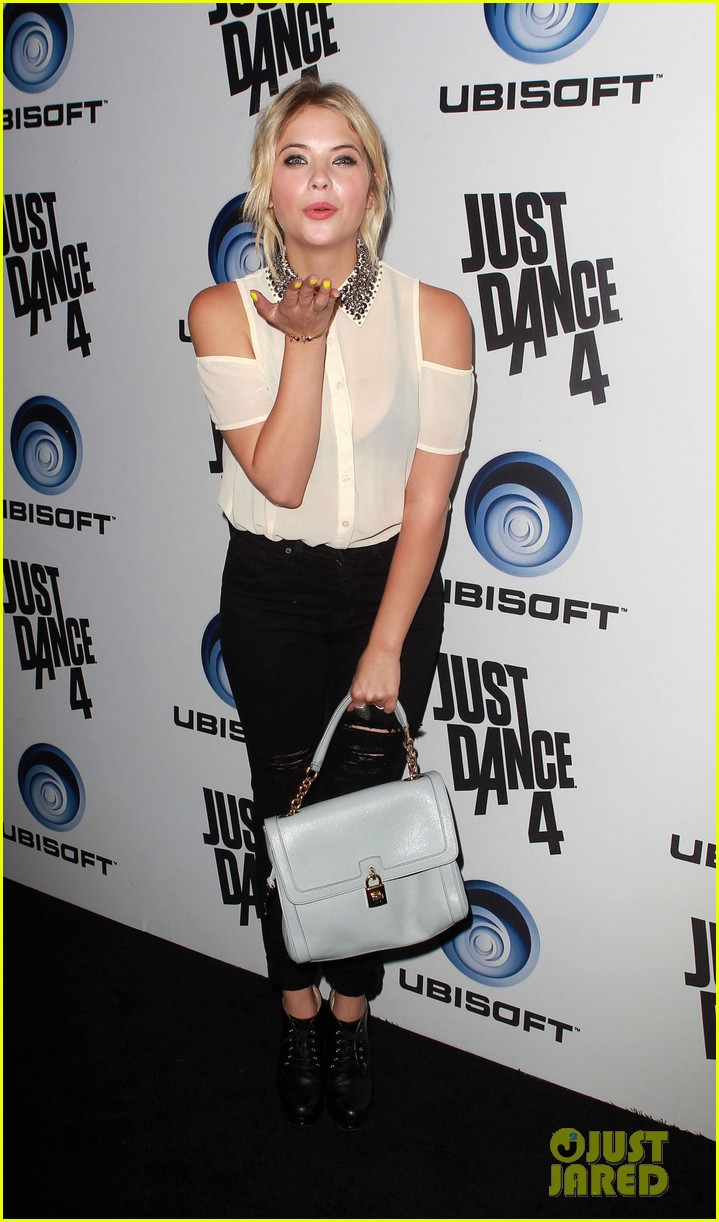 ashley benson christina milian just dance 4 launch party 012732168
