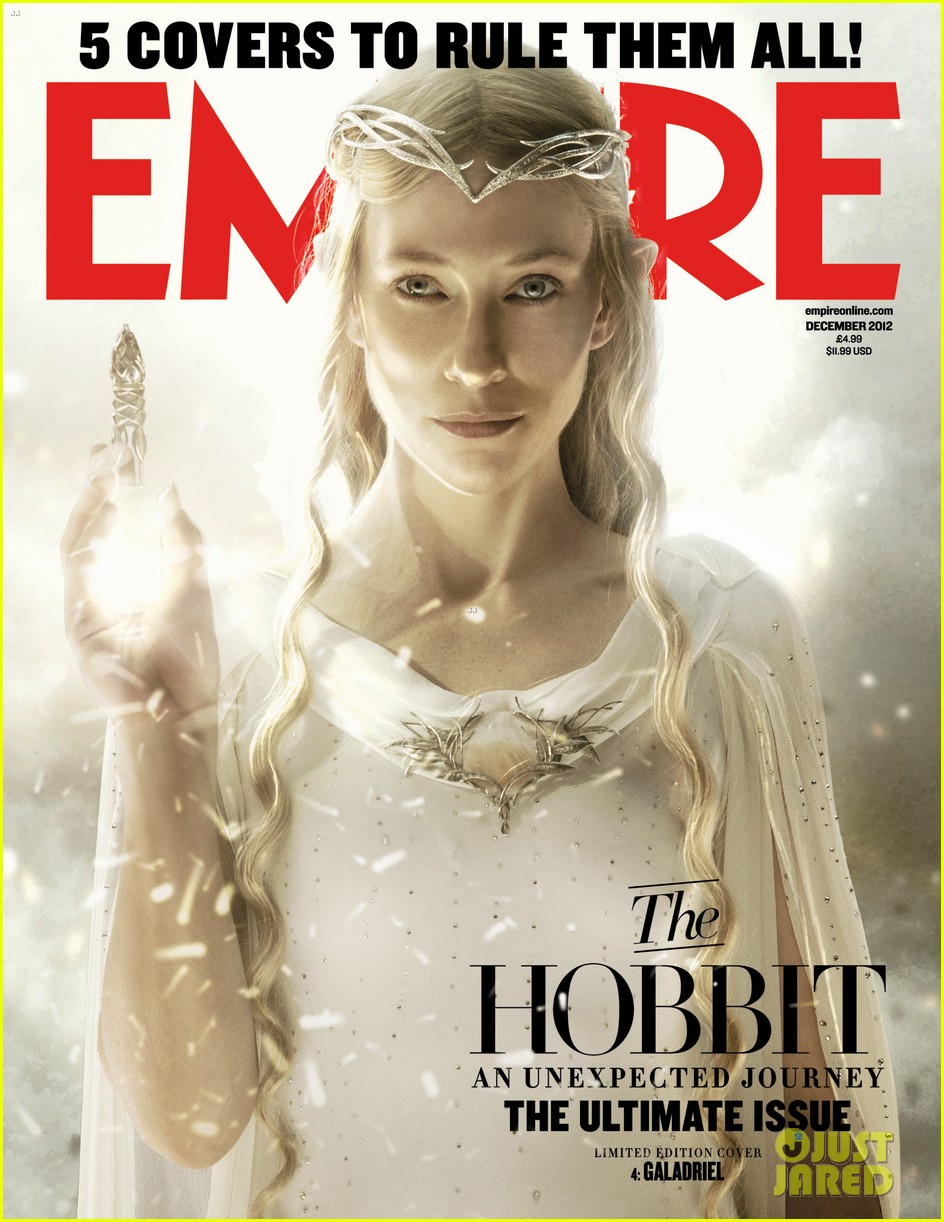 cate blanchett covers empire magazine as galadriel 012743811