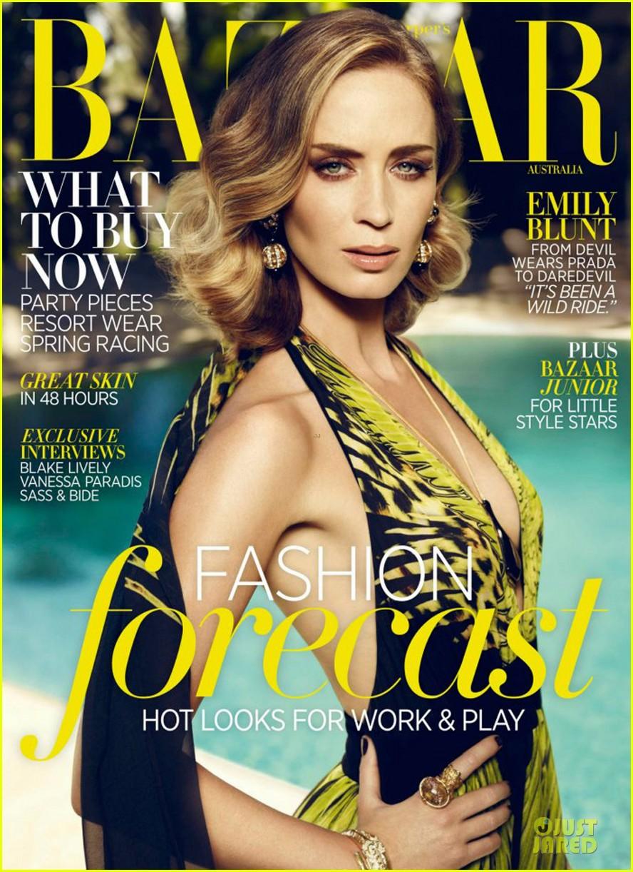 emily blunt covers bazaar australia magazine 062737449