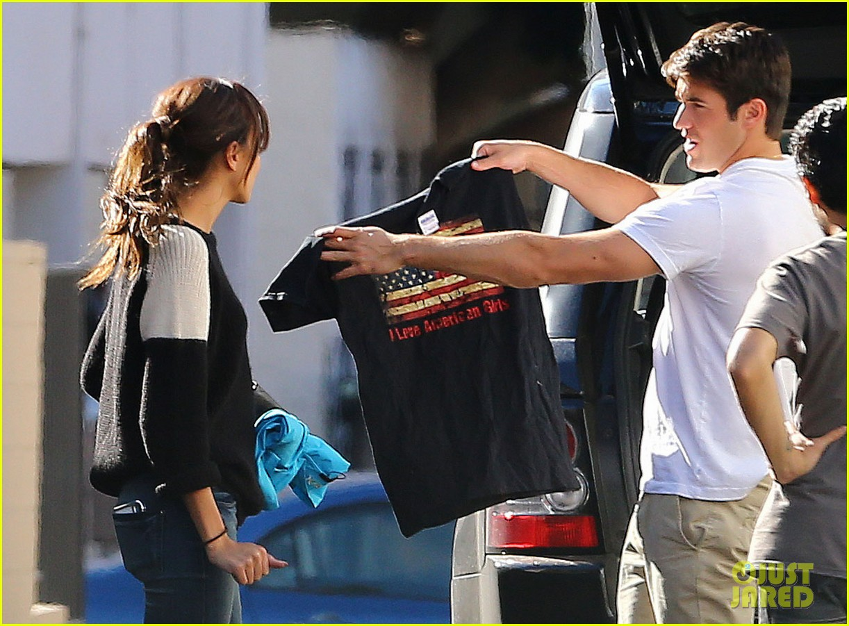 joshua bowman ashley madekwe furniture shopping 05