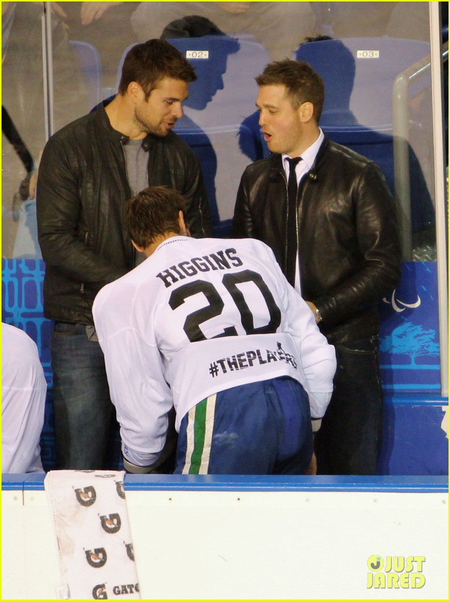 michael buble bieksas buddies charity hockey game 062740700
