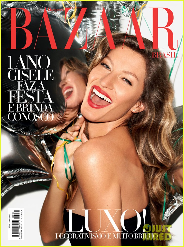 gisele bundchen covers harpers bazaar brasil 042745350