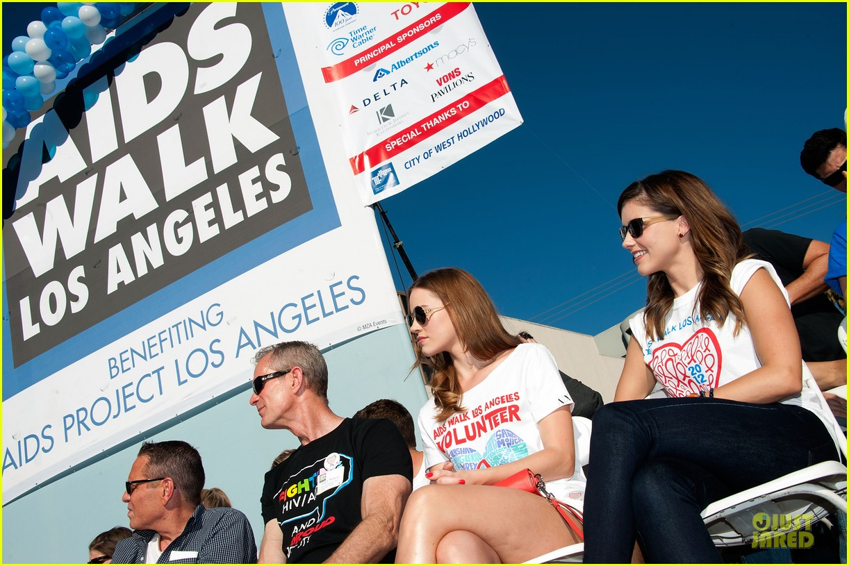sophia bush christa b allen aids walk 11