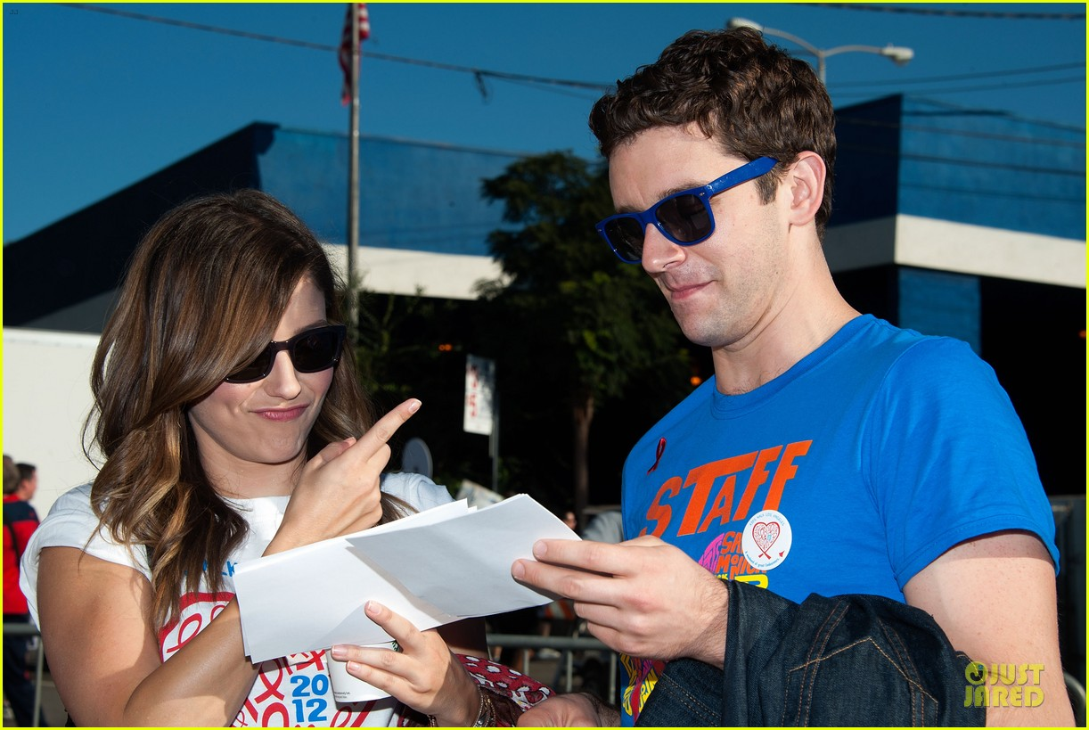 sophia bush christa b allen aids walk 17