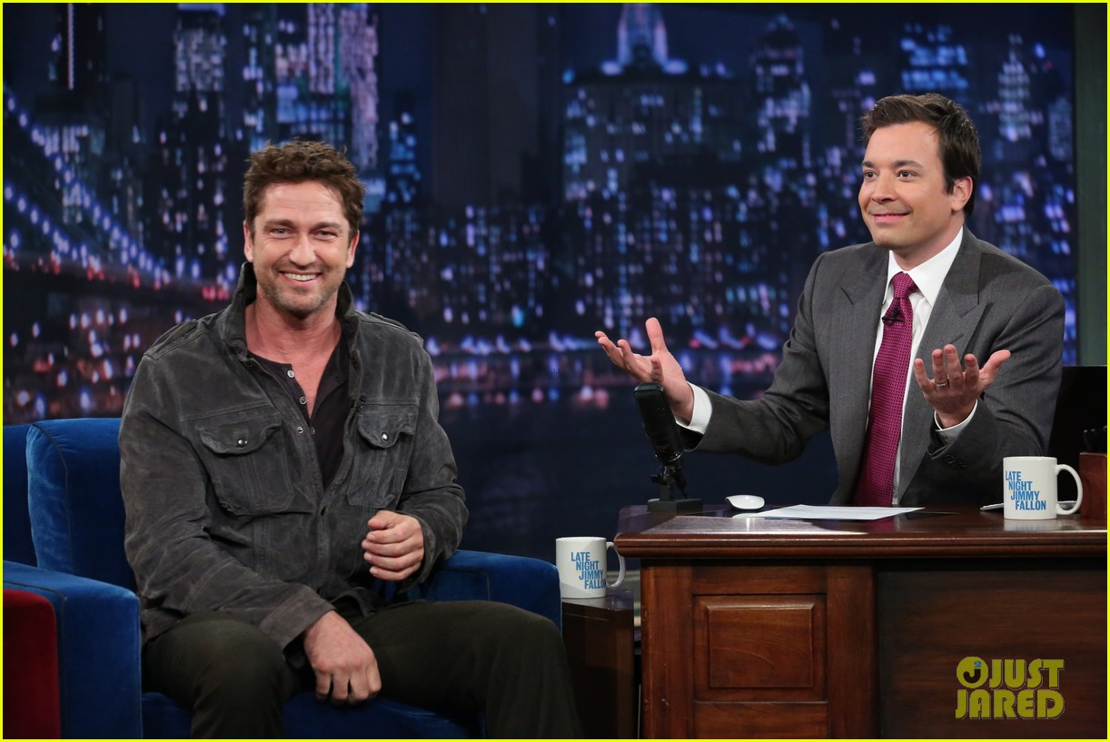 gerard butler late night with jimmy fallon appearance 02