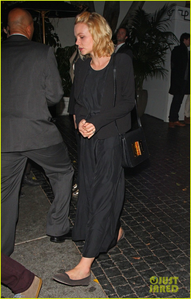 carey mulligan chateau marmont night out 072738016