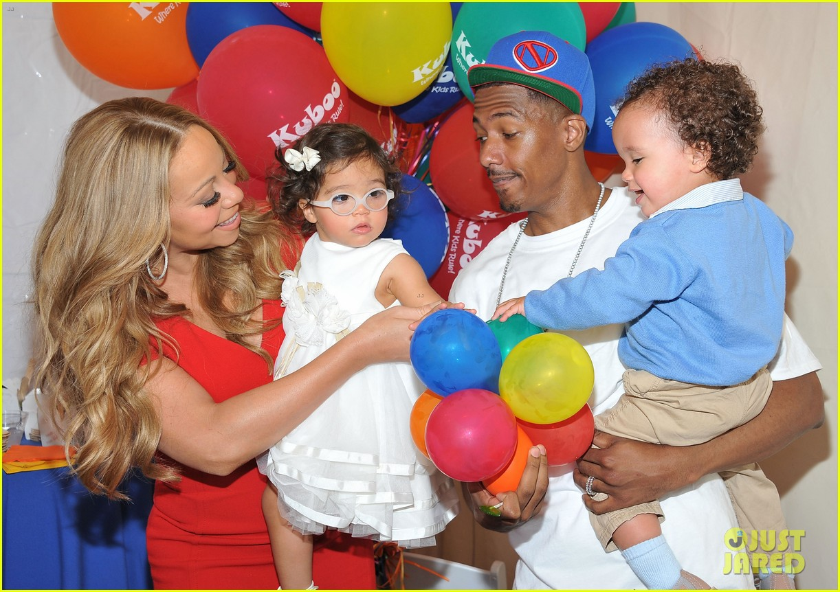 mariah carey nick cannon family day with dem babies 022734156
