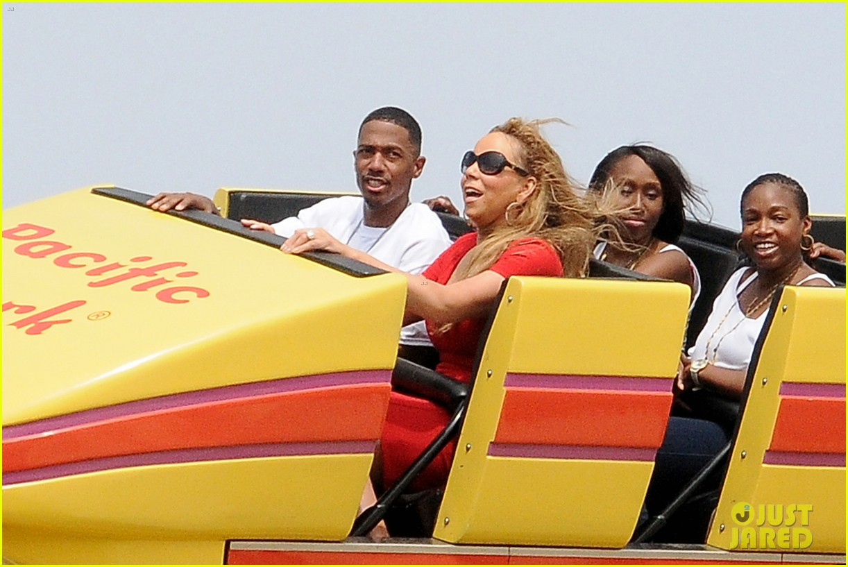mariah carey nick cannon family day with dem babies 032734157