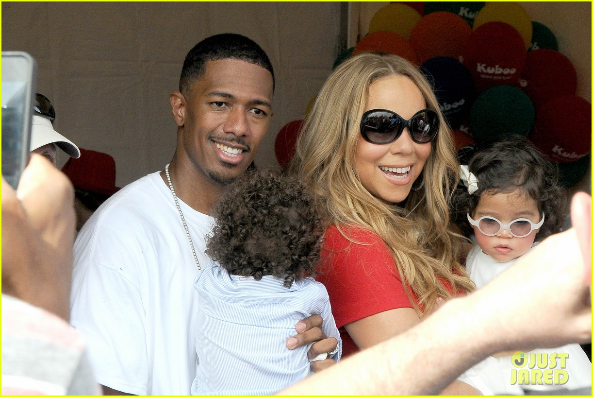mariah carey nick cannon family day with dem babies 092734163