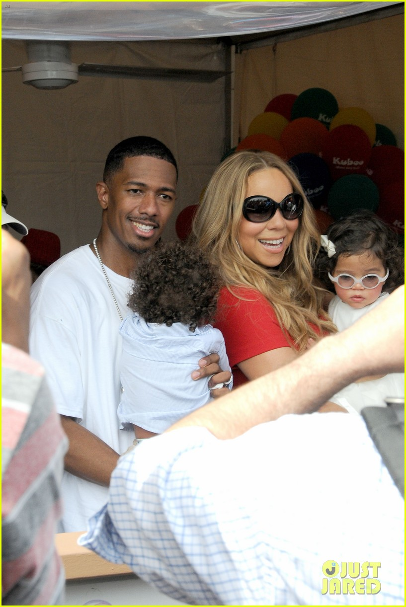 mariah carey nick cannon family day with dem babies 102734164