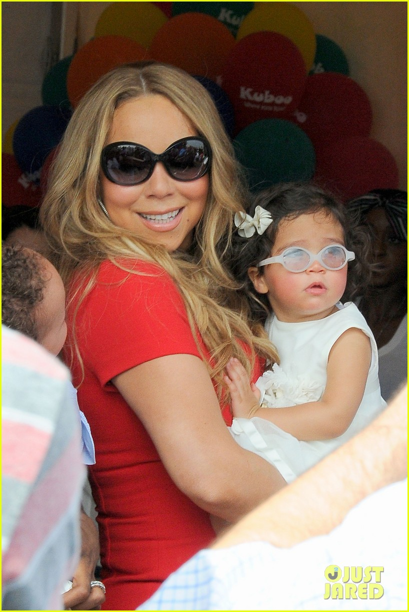 mariah carey nick cannon family day with dem babies 112734165