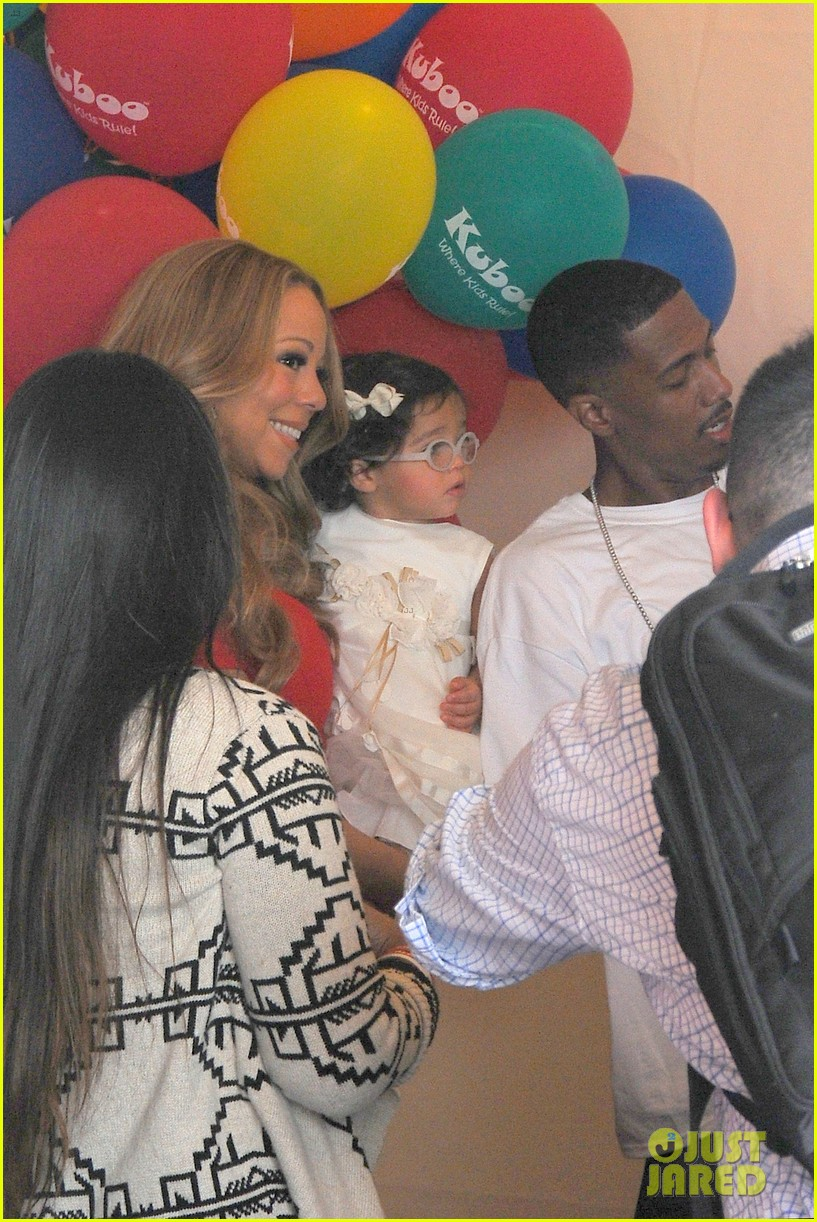 mariah carey nick cannon family day with dem babies 122734166