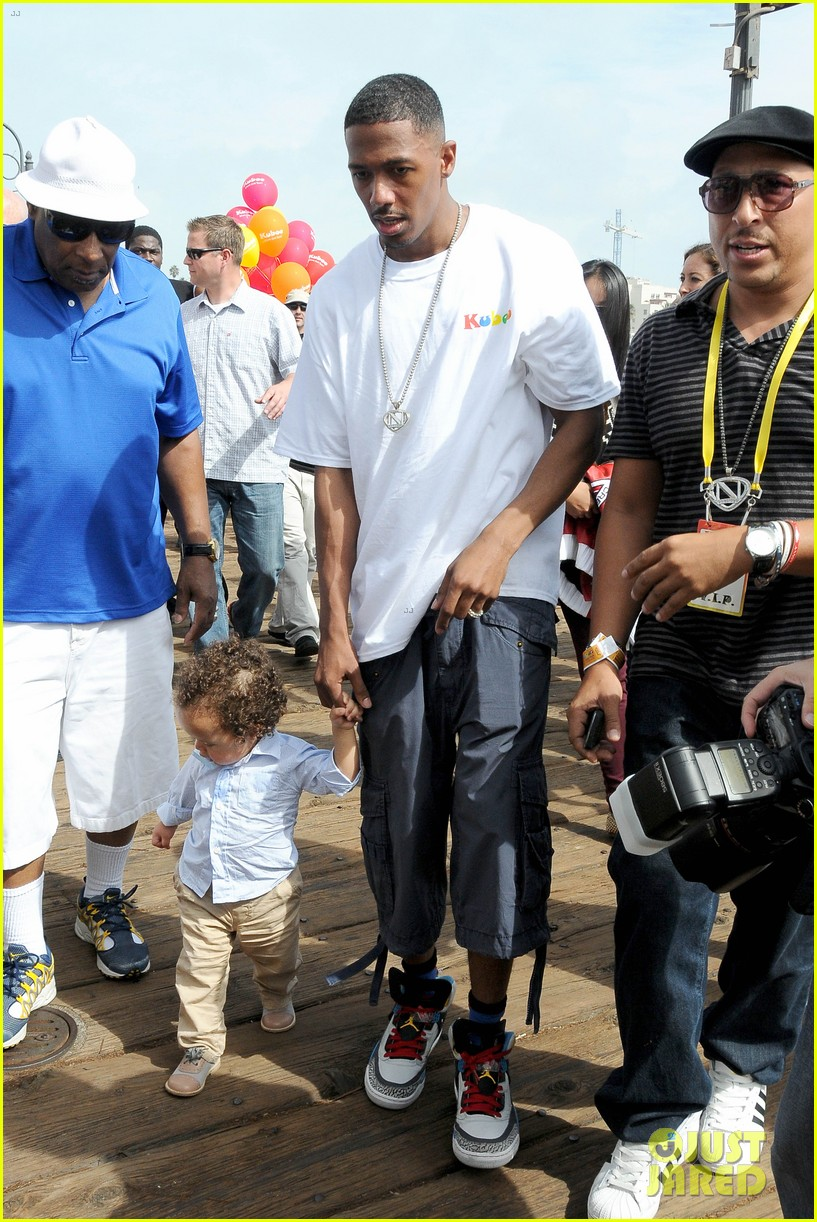 mariah carey nick cannon family day with dem babies 132734167