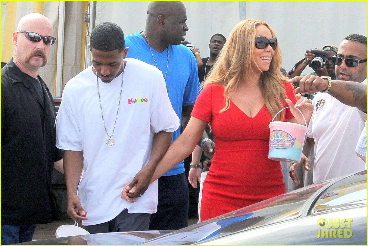 mariah carey nick cannon family day with dem babies 14