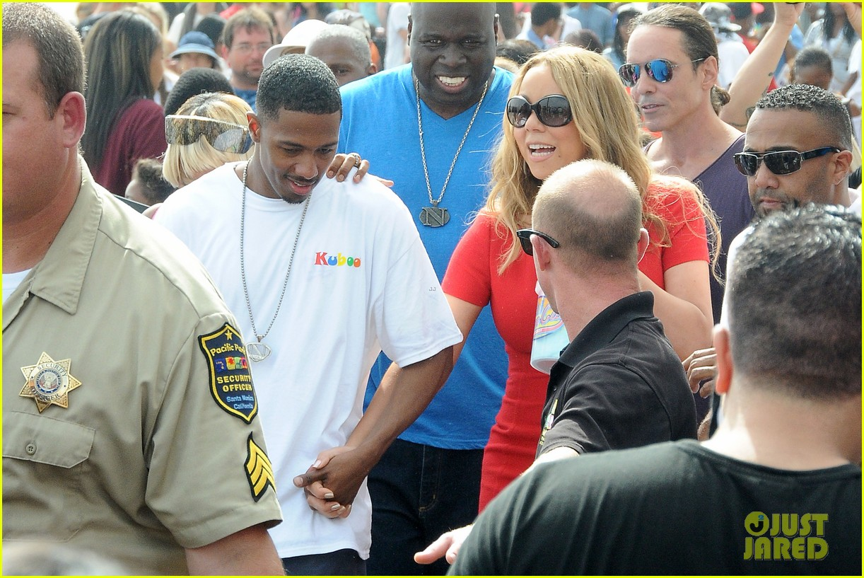 mariah carey nick cannon family day with dem babies 152734169
