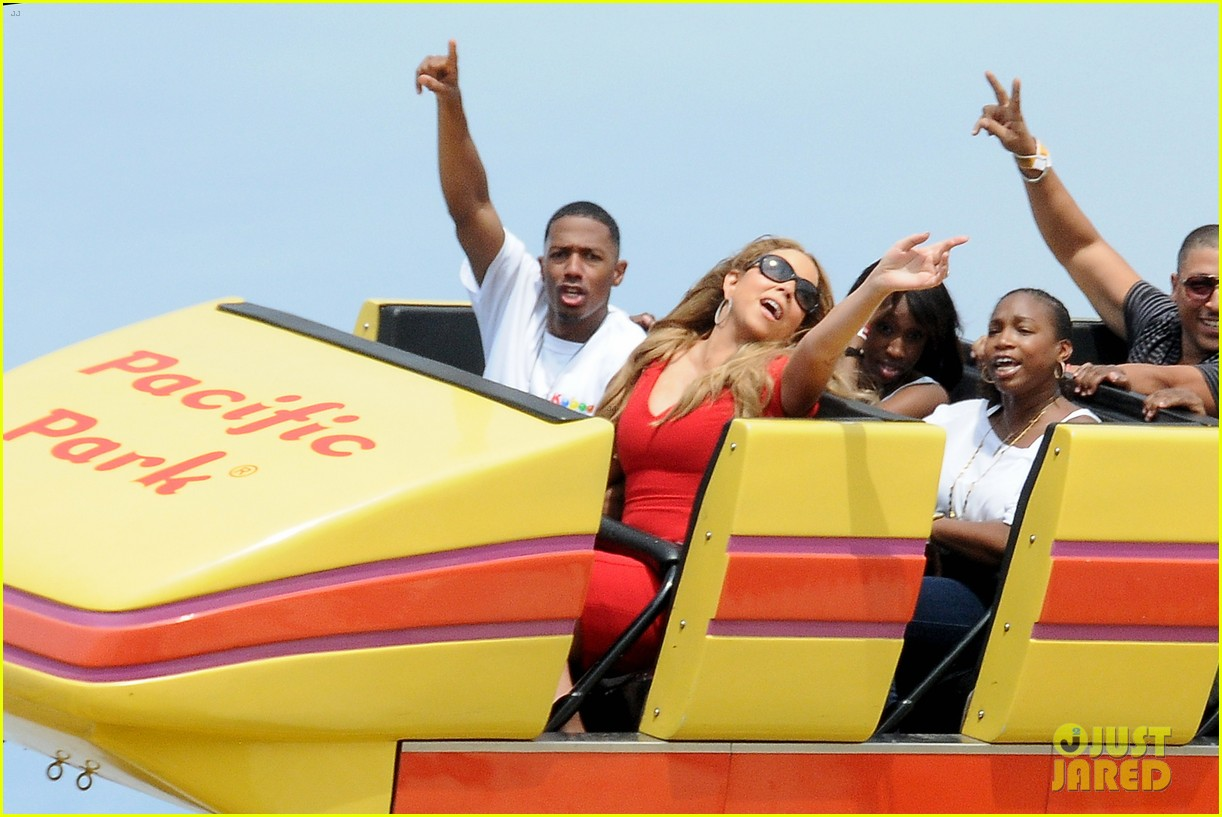 mariah carey nick cannon family day with dem babies 162734170