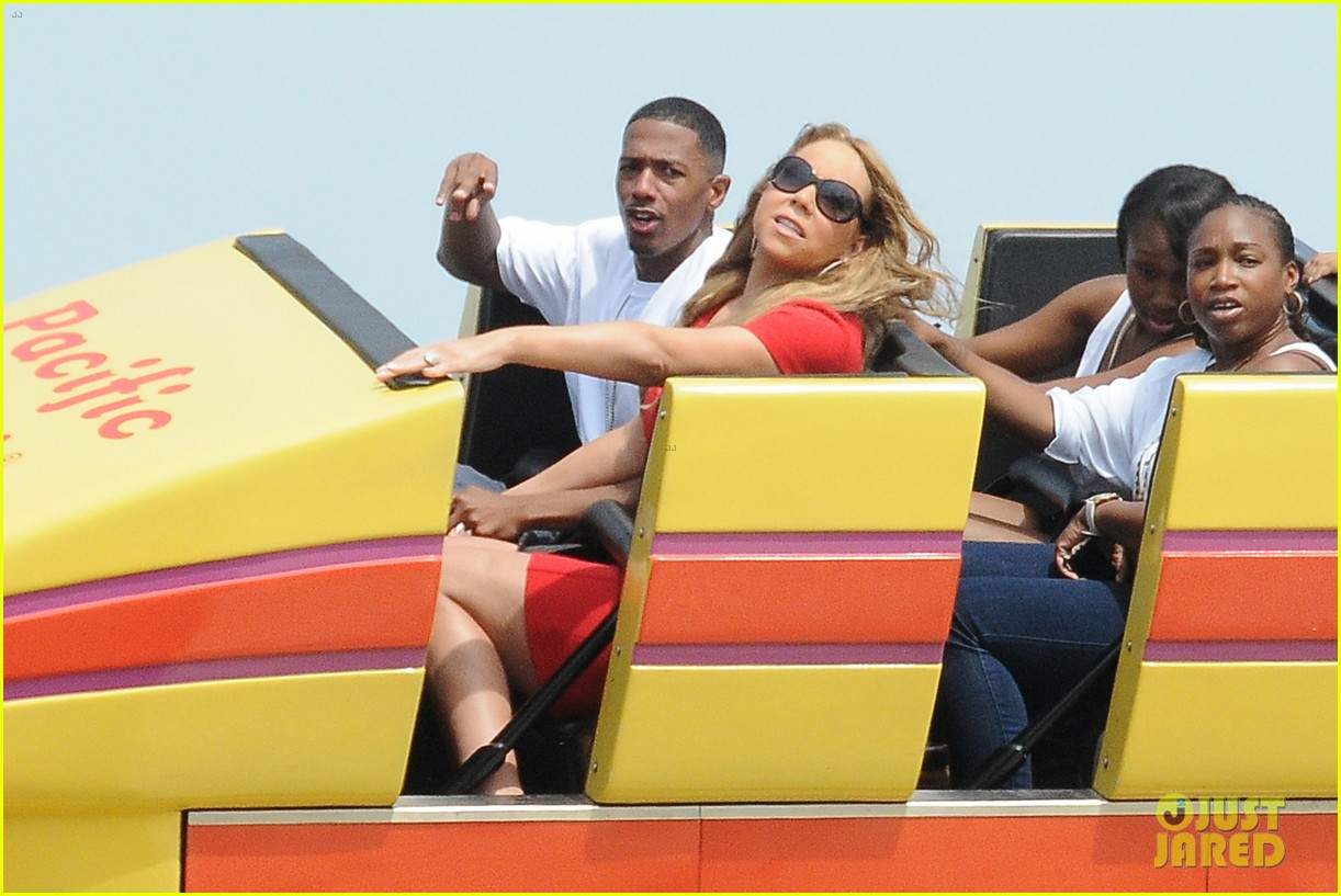 mariah carey nick cannon family day with dem babies 202734174
