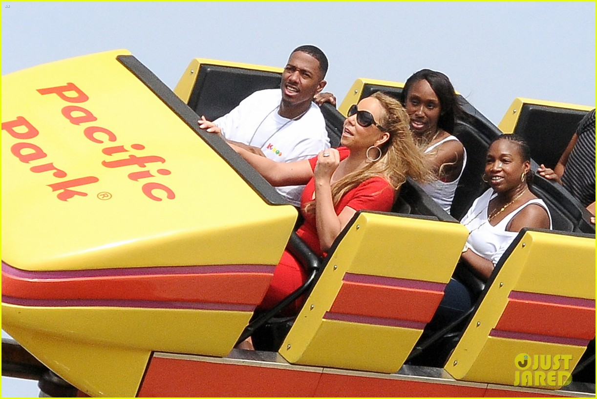mariah carey nick cannon family day with dem babies 212734175